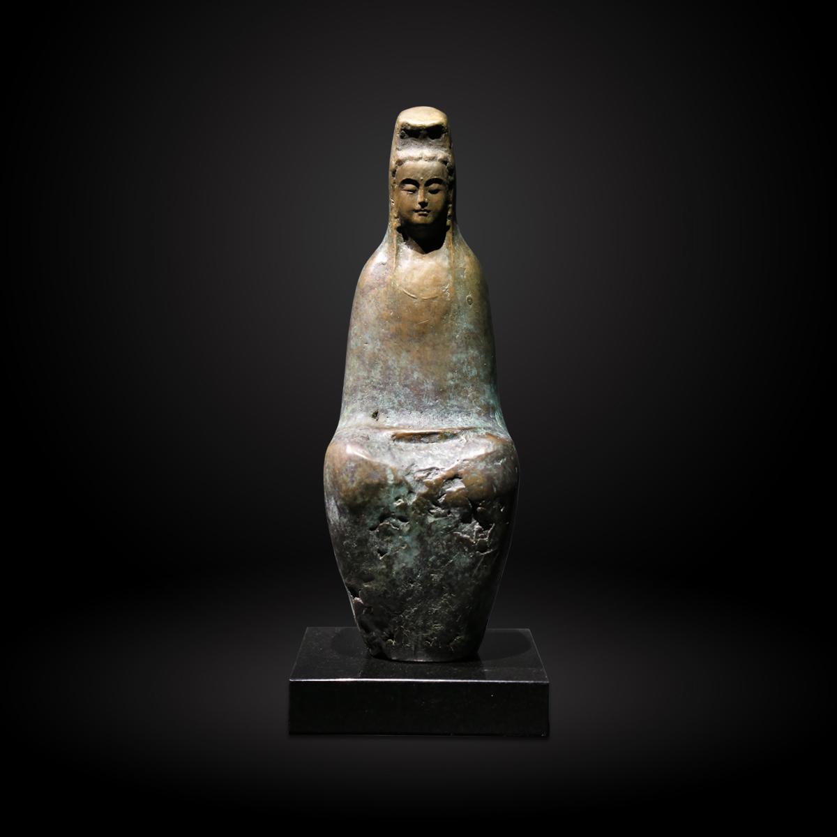 陳紹寬的佛像藝術品,觀音。