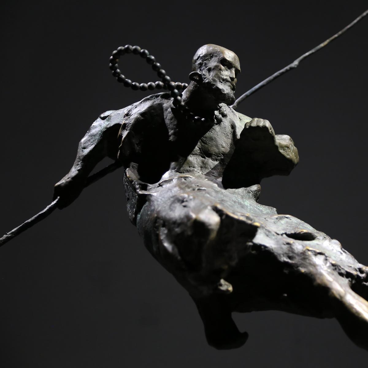 陳紹寬的佛像藝術品,達摩。